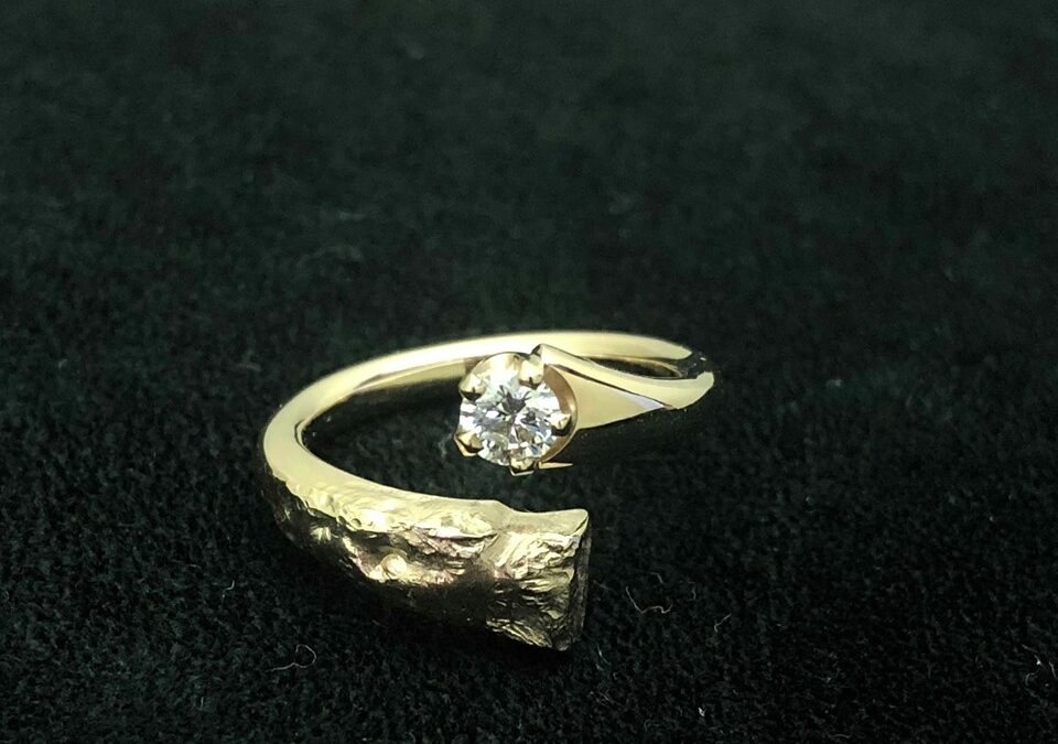 Unik forlovelsesring